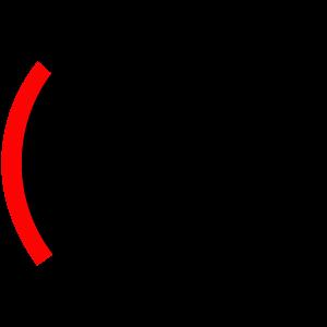 Grafik eines Rechenschieber als Symbol für Hörtest