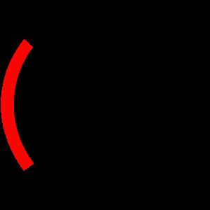 Grafik eines Ohres mit Schmerzen durch Tinnitus